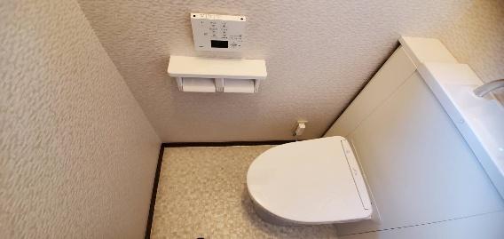 節水タンクトイレ設置20044