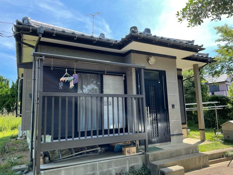 土浦市で雨漏りの心配をされているお客さまのご自宅の現場調査を行います!
