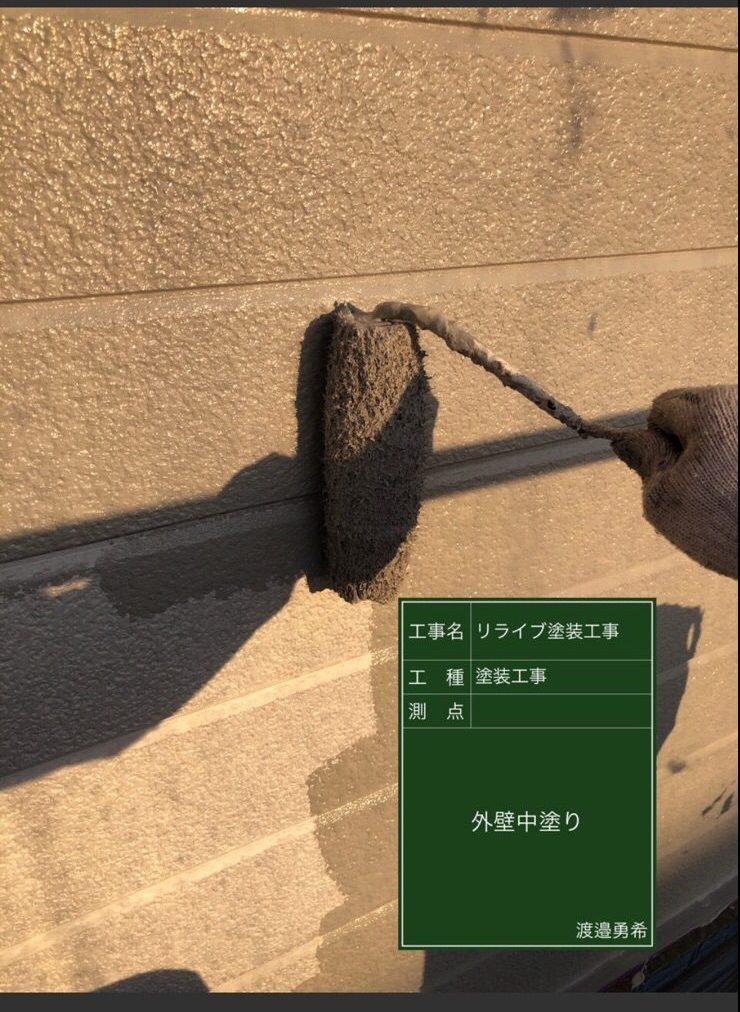 つくば市アパート外壁塗装②20023