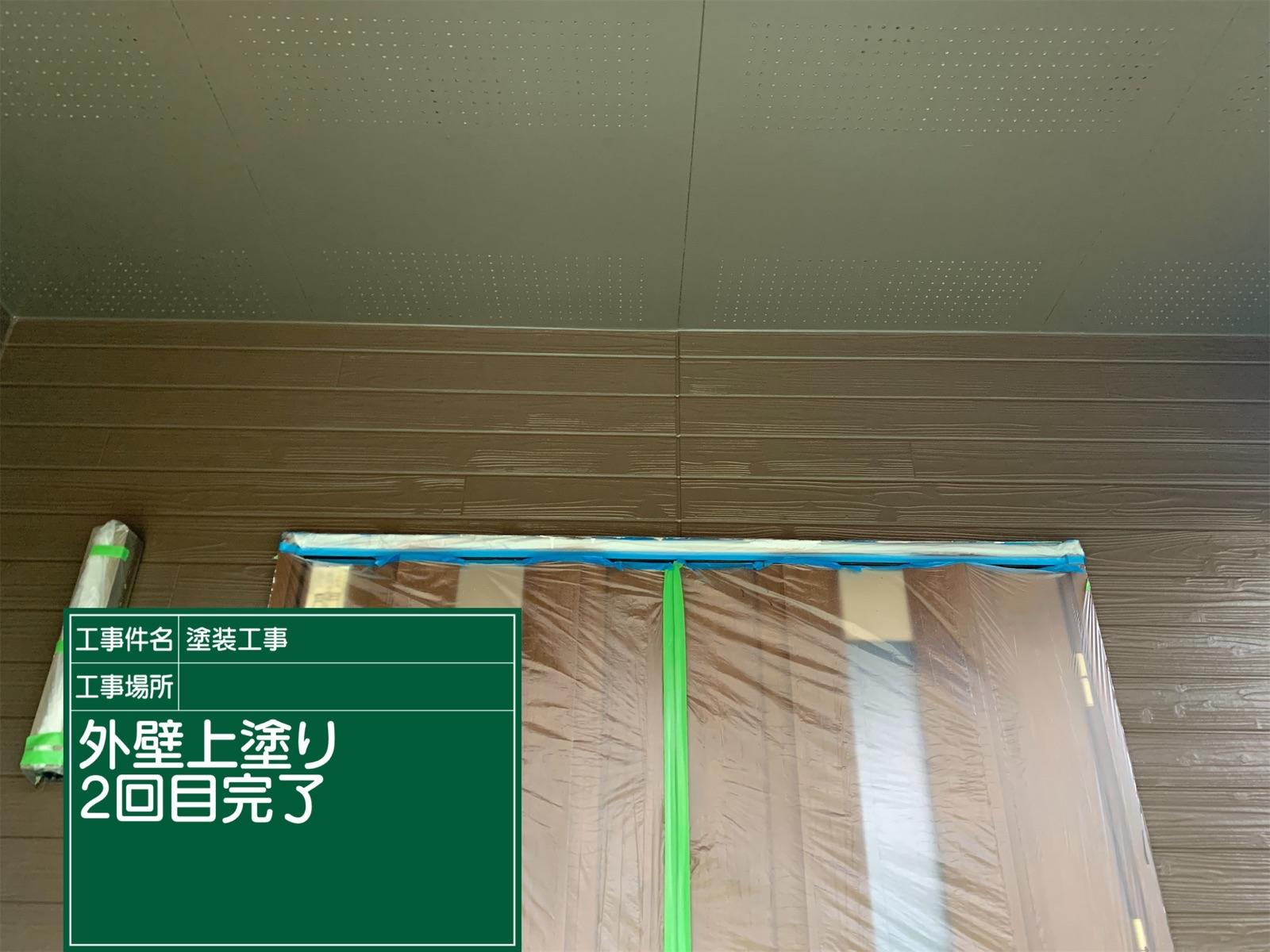 外壁上塗り2回目後(2)300017