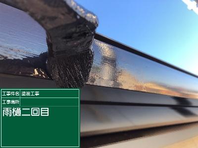 雨樋塗装②20020