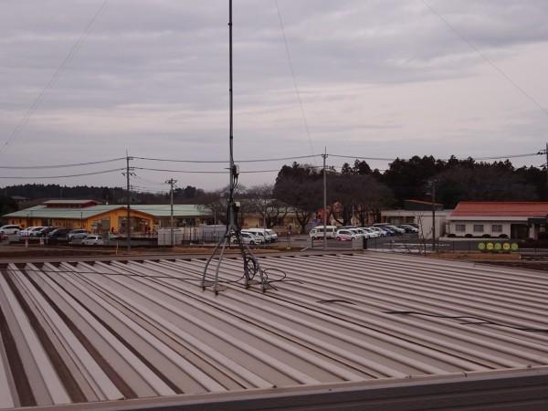 現場調査屋根20047