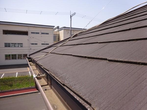 土浦市現場調査屋根20052