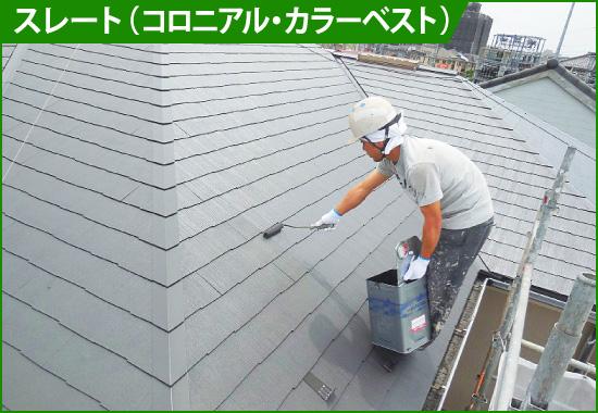 屋根塗装が必要な屋根材